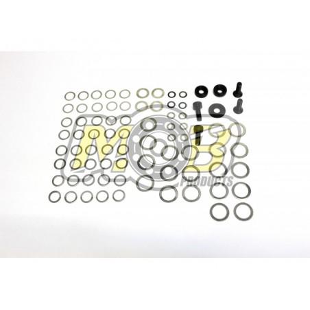 Clutch system adjustment washers Set 1/10 - 1/8 Premium