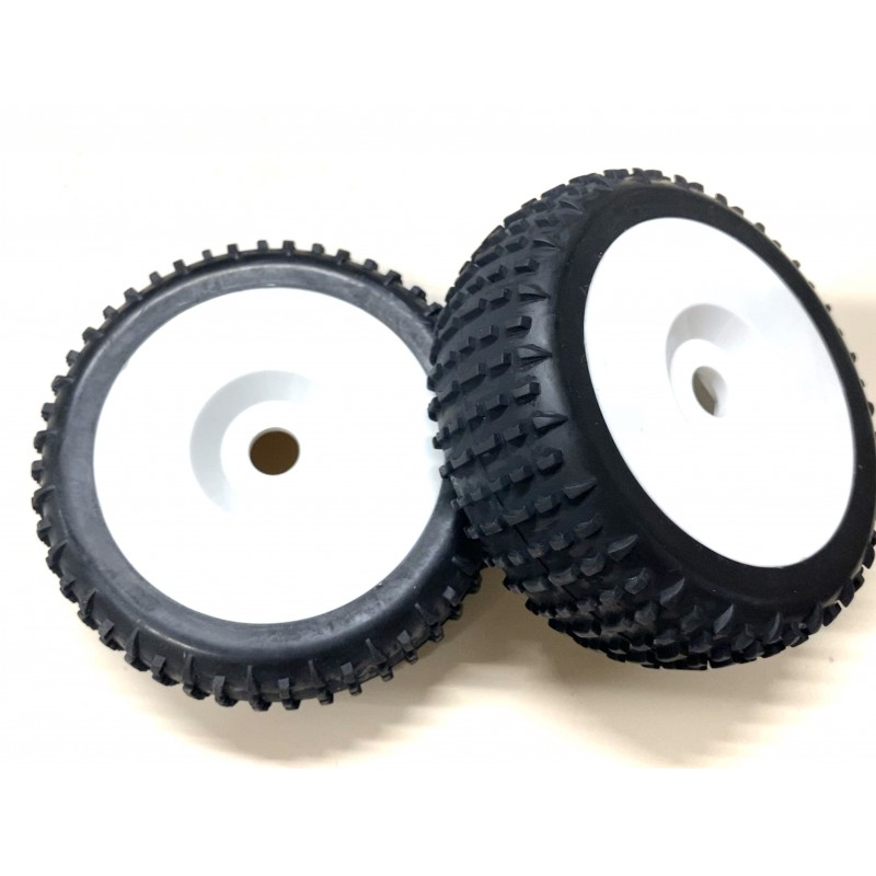 85890 - Off Road 1/8 Buggy Complete Tire x2 pcs