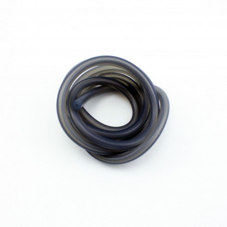Silicone Fuel line Translucent black 1M