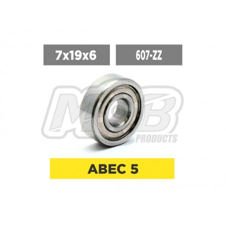 Ball Bearing 7x19x6 ZZ Brushless Motor - Ministry of Bearing