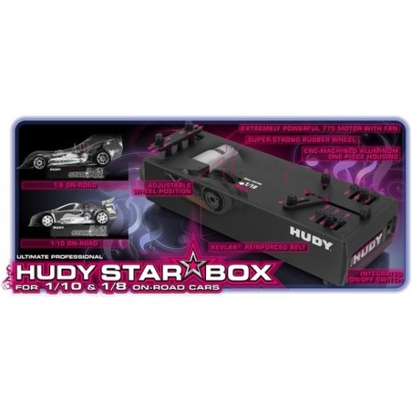 Hudy Star-Box On-Road 1/10 and 1/8 H104400