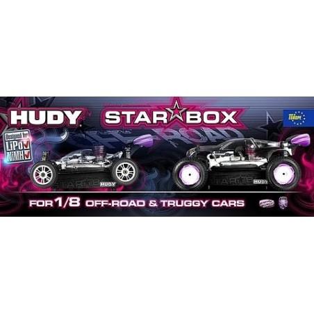 Mesa de Arranque Hudy Star 1/8 Off Road H104500