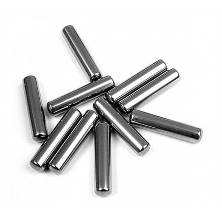 Set Of Replacement Drive Shaft Pins 3X14 mm Hudy x10 pcs