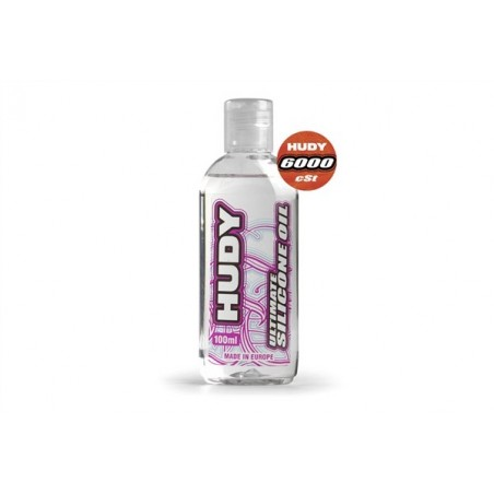 Silicona diferencial HUDY 6000 cSt - 100ML