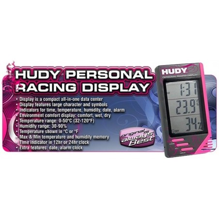 Hudy Personal Racing Display - H107850