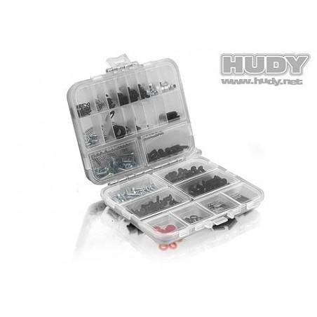 Caja plastico doble cara  Compacta Hudy H298011