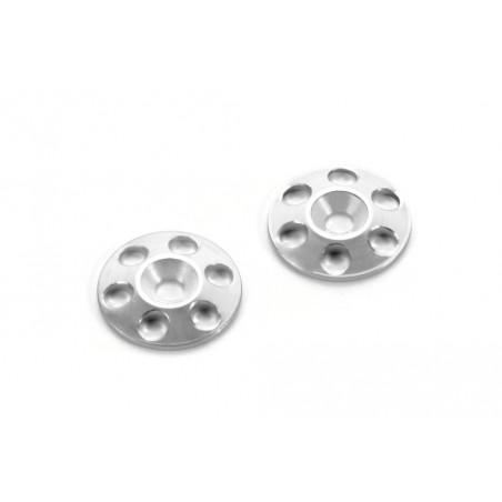 Arandelas Silver de Aleron 1/8 - 1/10 Hudy x2 uds.