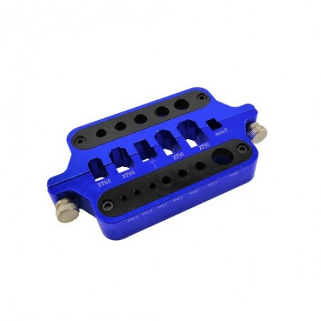 Plug and connector soldering jig