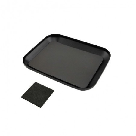 Magnetic parts tray Black
