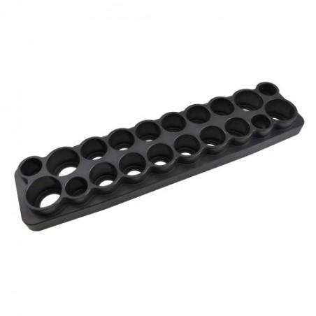 Aluminum tool stand Black - 20 tools