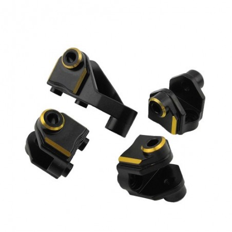 Traxxas TRX-4 brass lower shock link mounts