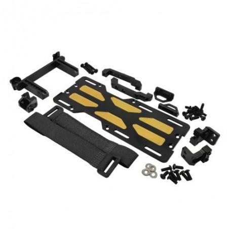 Kit montaje servo delantero + bandeja bateria Bronce Traxxas TRX-4