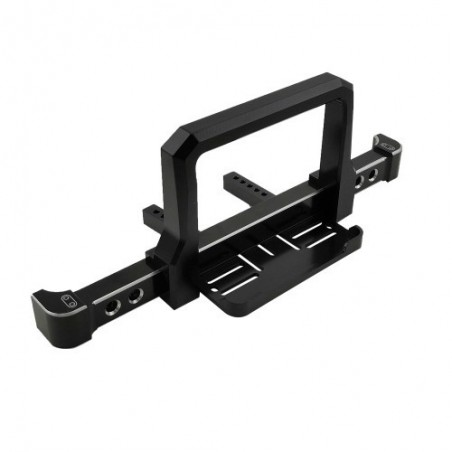 Traxxas TRX-4 aluminum front bumper with winch plate