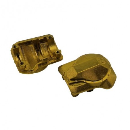 Traxxas TRX-4 brass differential cover