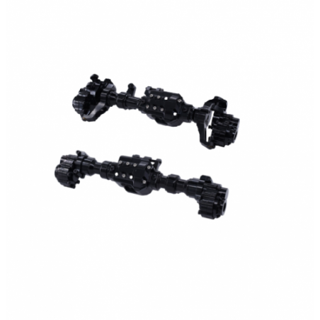 Traxxas TRX-4 metal front and rear axle set