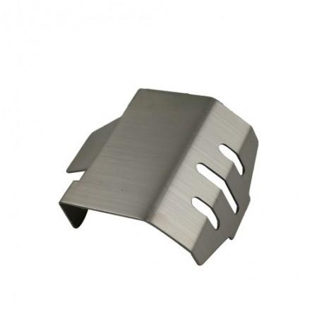 Protector diferencial del y tras acero inox Traxxas TRX-4