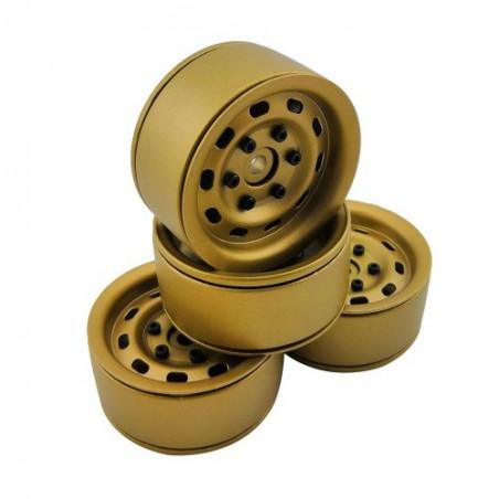 1.9 aluminum beadlock Crawler wheels M95 Bronze x4 pcs