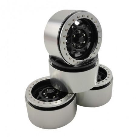 2.2 aluminum beadlock Crawler wheels M502 x4 pcs