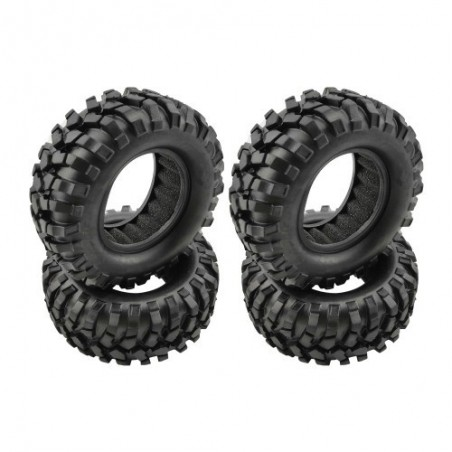 Plunk 1.9 Crawler tires with foam 95mm x4 pcs