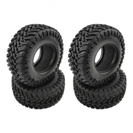 Rampage 1.9 Crawler tires 107mm x4 pcs