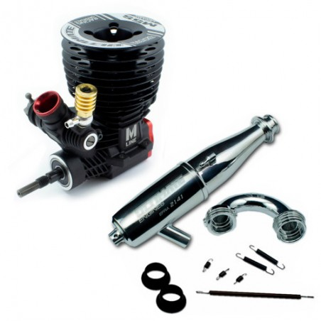 Ultimate Engines M5S Ceramic + Exhaust system 2141FHD