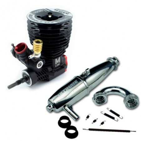 Ultimate Engines M5S Ceramic + Exhaust system 2142