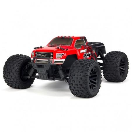 ARRMA Granite 1/10 Monster Truck 550 Brushed RTR - Rojo