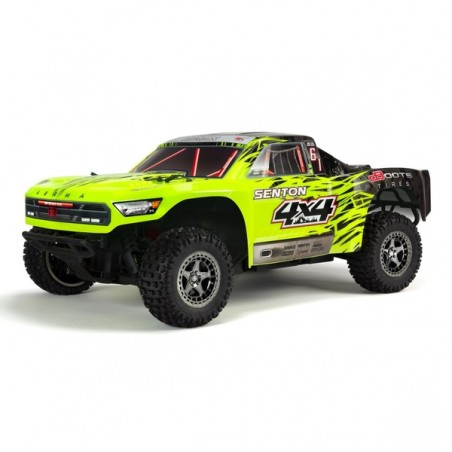 ARRMA Senton 1/10 Short Course 3S Brushless RTR - Green