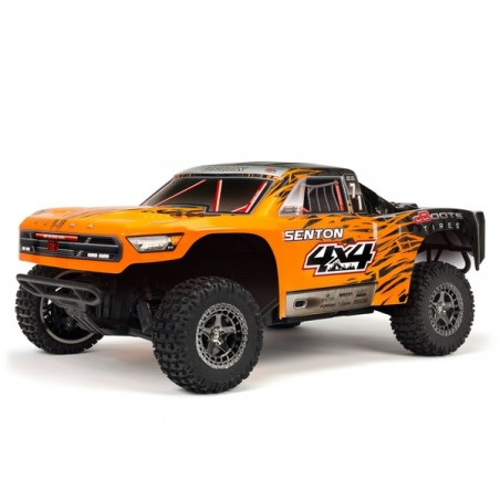 ARRMA Senton 1/10 Short Course 3S Brushless RTR - Orange