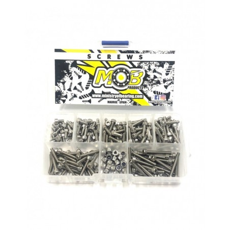 Screw set M3 Cylinder Head stainless steel 200 pcs