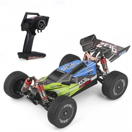 Buggy electrico RTR 1/14 4x4 2.4Ghz 60kmh WLToys Verde