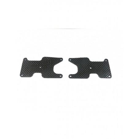 Associated RC8B3.2 Rear Arm 2mm carbon fiber inserts