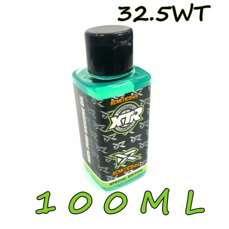 XTR 100% pure silicone oil 32.5 WT 100ml v2 RONNEFALK EDITION