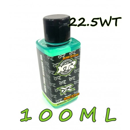 XTR 100% pure silicone oil 22.5 WT 100ml v2 RONNEFALK EDITION