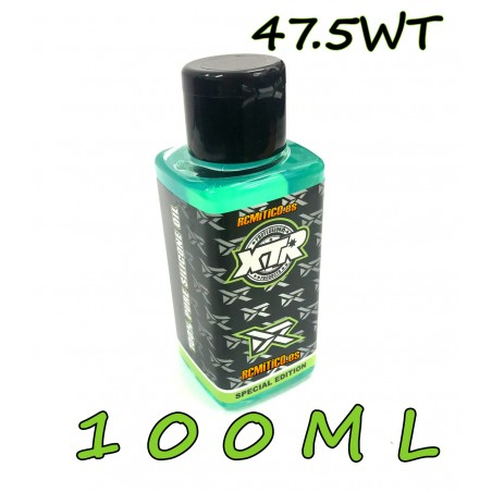 XTR 100% pure silicone oil 47.5 WT 100ml v2 RONNEFALK EDITION