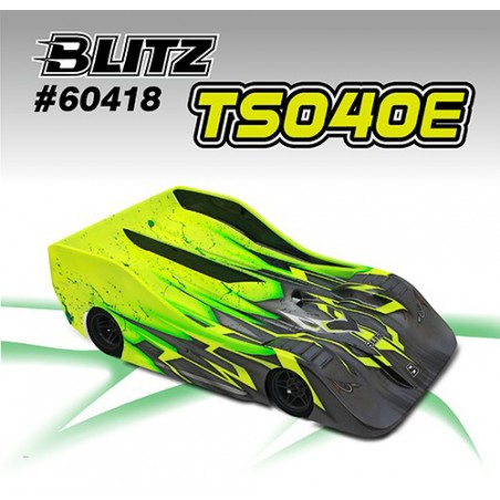 BLITZ TS040 Body 1/8 Onroad Electric Superlightweight 0.7mm