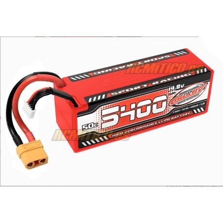 Bateria LiPo 5400 mAh 14.8v 4S 50C Sport Team Corally
