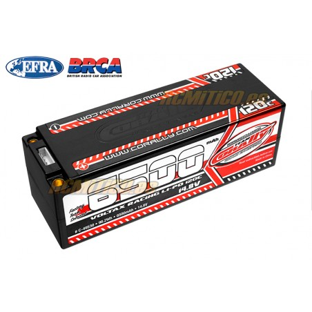 LiPo battery 6500 mAh 14.8v 4S 120C Voltax Team Corally