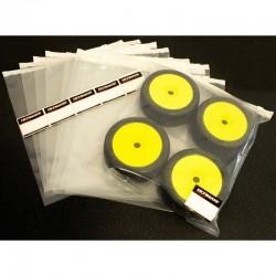 1/8 RC tires storage zip lock bag set x10 pcs