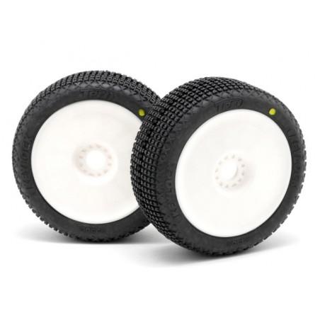 TPRO 1/8 Off Road KeyLock Competition Tire Glued M XR-T2