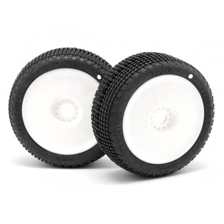 TPRO 1/8 Off Road KeyLock Competition Tire Glued SS XR-T4