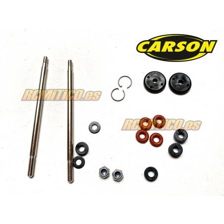CA52036 - Vastagos y pistones amortiguador trasero Carson 1/8