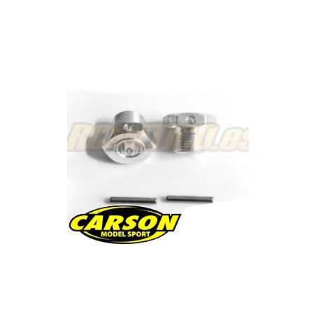 CA205223 - Hexagonos rueda 17mm y pines SET Carson 1/8