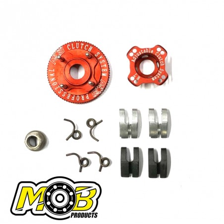 4 shoes Clutch System Aluminum Carbon Ministry of Bearing