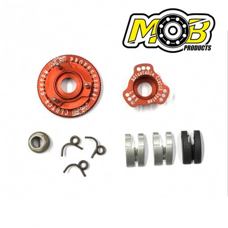 3 shoes Clutch System Aluminum Carbon Ministry of Bearing