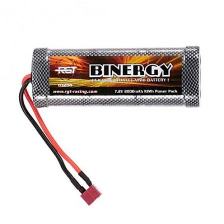 Bateria NiMh 2000mAh 7.2v Stick Pack Energy