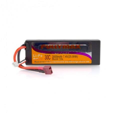 LiPo Battery 7.4v 3500mAh 30C Fullymax