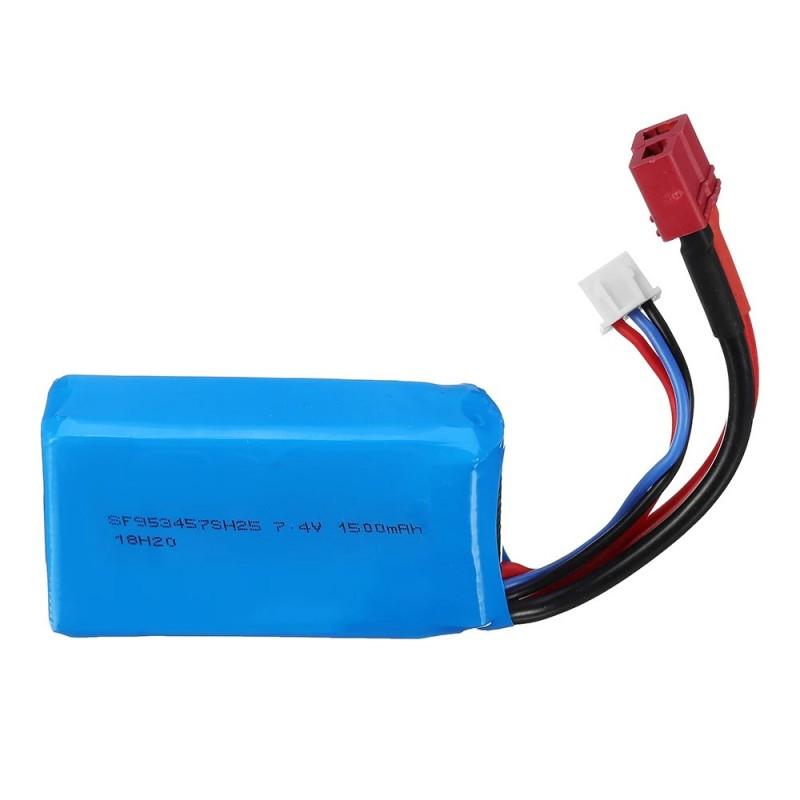 LiPo Battery 7.4v 1500mAh WLToys A959B - 144001