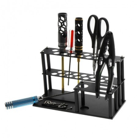Tools stand and screws tray for RC maintenance