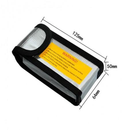LiPo Battery safe bag 64x50x125mm